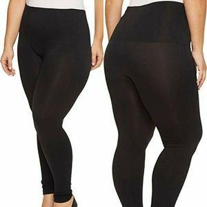 Spanx Black Shapewear Look At Me Leggings Size 3X